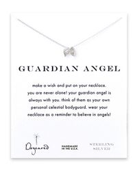 Dogeared | Metallic Angel Wing Charm Necklace | Lyst