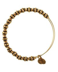 ALEX AND ANI | Metallic Nile Beaded Bangle Bracelet | Lyst