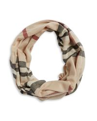 Lord & Taylor | Natural Looped Scarf | Lyst