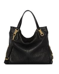 Vince Camuto | Black Riley Leather Hobo | Lyst