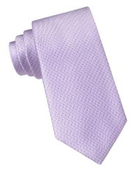 DKNY | Purple Silk Dotted Stripe Tie for Men | Lyst