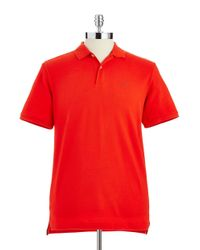 Victorinox | Red Pique Cotton Polo Shirt for Men | Lyst