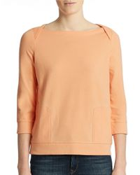 Lord & Taylor | Pink Lounge Top | Lyst