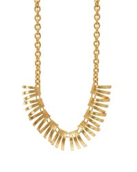 Gerard Yosca | Metallic Fringed Necklace for Men | Lyst
