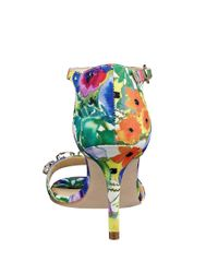 Ivanka Trump   Multicolor Gessa Embellished Open-toe Sandals   Lyst