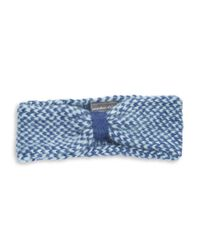 Wooden Ships - Blue Marled Knit Headband - Lyst