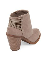 Jessica Simpson - Natural Calvey Leather Ankle Boots - Lyst