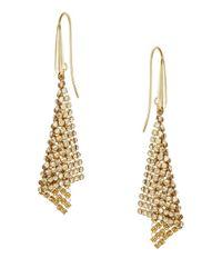 Swarovski   Metallic Fit Small Pierced Earrings   Lyst