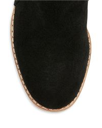 Matt Bernson | Black Holt Suede And Leather Ankle Boots | Lyst