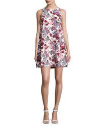 Kensie | Multicolor Floral Shift Dress | Lyst