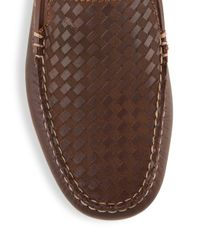 Tommy Bahama - Brown Moc Toe Slip-ons for Men - Lyst