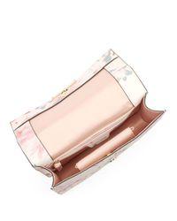 Ivanka Trump - Multicolor Mara Floral Leather Shoulder Bag - Lyst