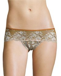 Free People | Multicolor Rose Lace Hipsters | Lyst