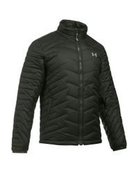 Under Armour | Green Coldgear Reactor Packable Quilted Jacket for Men | Lyst