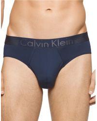 Calvin Klein | Blue Logo Briefs for Men | Lyst