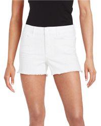 Jessica Simpson | Black Uptown High-rise Shorts | Lyst