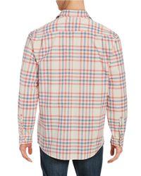 Weatherproof - Orange Plaid Sportshirt for Men - Lyst