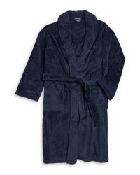 Nautica - Blue Plush Robe for Men - Lyst