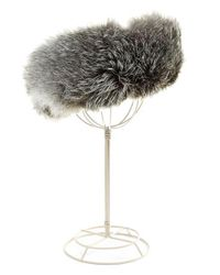 Surell | Blue Fox Fur Headband/collar | Lyst