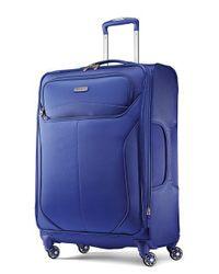 Samsonite - Blue 25-inch Red Spinner Suitcase - Lyst