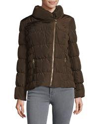 Kenneth Cole - Multicolor Asymmetrical Zip Jacket - Lyst