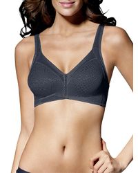 Bali - Black Double Support Minimizer Bra - Lyst