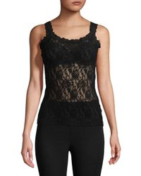 Hanky Panky | Black Signature Lace Camisole | Lyst