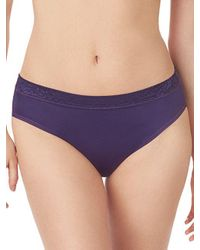 Le Mystere - Purple Safari Smoother Bikini - Lyst