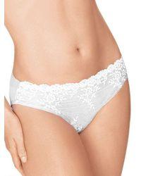 Wacoal - White Embrace Lace Bikini - Lyst