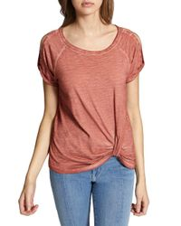 Sanctuary - Multicolor Adrienne Twisted Tee - Lyst