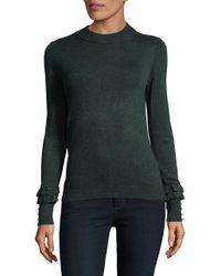Ivanka Trump - Green Long Sleeve Sweater - Lyst