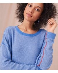 Lou & Grey - Blue Seam Play Sweater - Lyst