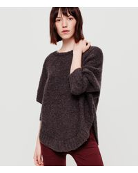 Lou & Grey | Multicolor Boucle Poncho | Lyst