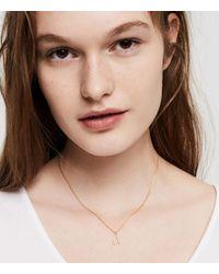 Lou & Grey - Metallic Tai Jewelry Wishbone Necklace - Lyst