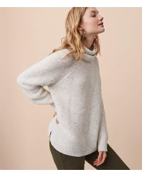 Lou & Grey White Rainbow Chip Sweater