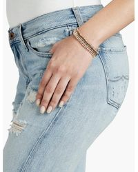 Lucky Brand - Metallic Small Spike Bracelet - Lyst