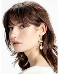 Lucky Brand | Multicolor Two Tone Linear Earring | Lyst