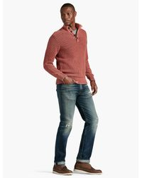 Lucky Brand - Multicolor Washed Out Mock Neck for Men - Lyst