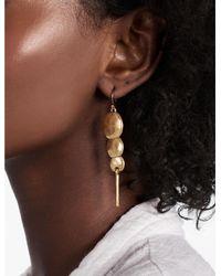 Lucky Brand - Metallic Organic Triple Circle Earring - Lyst