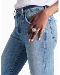 Lucky Brand - Metallic Seafoam Ring - Lyst