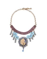 Lulu Frost - Blue *vintage* 100 Year Necklace #4 - Lyst