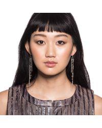 Lulu Frost - Black Lillet Tassel Earrings - Lyst