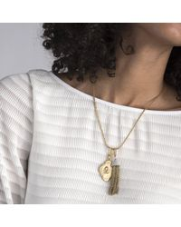 Lulu Frost - Metallic Coin Number Charm #0 - Lyst