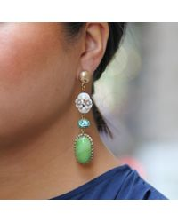 Lulu Frost - Multicolor Vintage Vienne Post Drop Earrings - Lyst