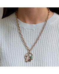 Lulu Frost - Metallic Bellevile Small Pendant Necklace - Lyst