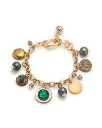 Lulu Frost - Metallic *vintage* Charm Bracelet 6 - Lyst