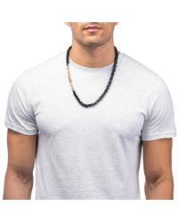 Lulu Frost - Black George Frost 75/25 Necklace - Lyst