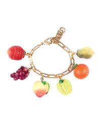 Lulu Frost - Metallic Tutti Frutti Charm Bracelet - Lyst