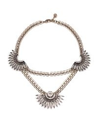 Lulu Frost - Multicolor Beacon Statement Necklace - Lyst