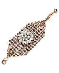 Lulu Frost - Metallic Mesh Bracelet - Gold - Lyst